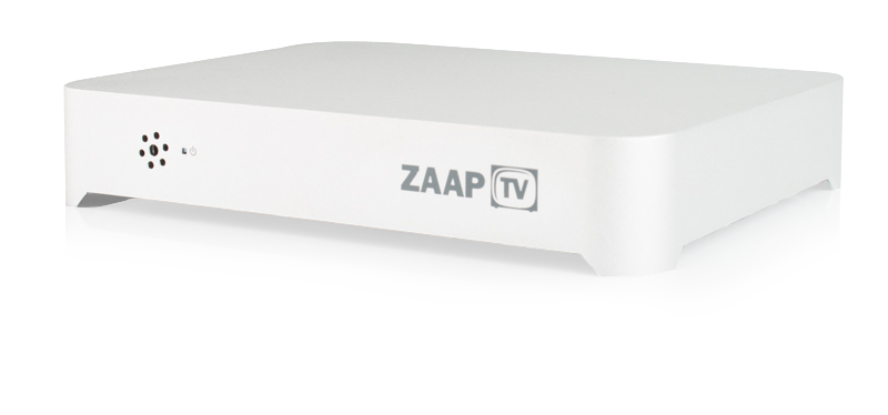 Zaaptv 3quarter view