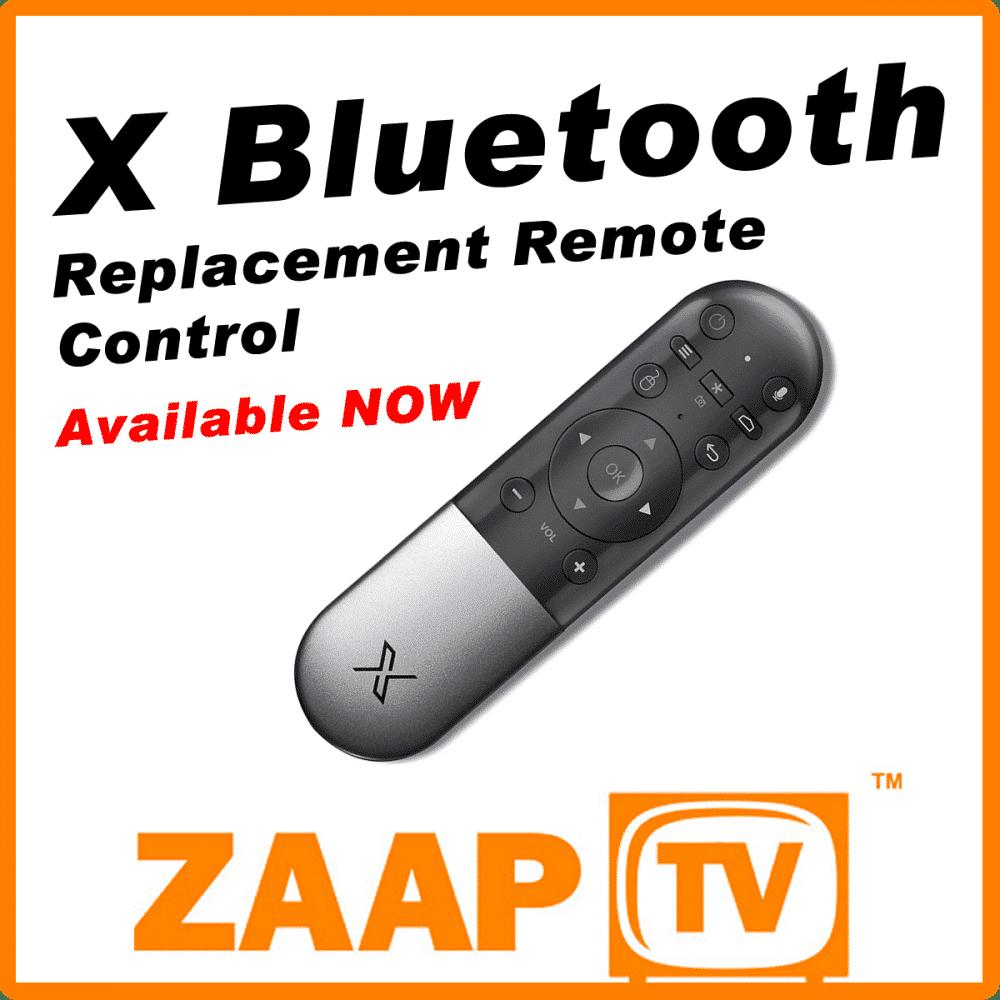 """ZAAPTV """"X"""" / HD609 Remote Control"""