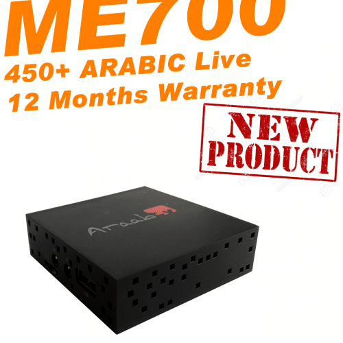 ARAABTV ME700 Arabic TV Channels - New 2018 Model