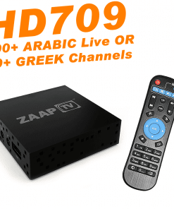 ZAAPTV HD709 - New 2018 Model
