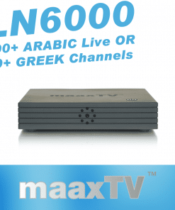 GlobeTV.com.au - MAAXTV LN6000 with 3 Years ARABIC or GREEK