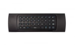 ZAAPTV HD809 Remote Control back